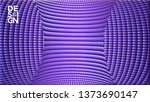 abstract 3d background with... | Shutterstock .eps vector #1373690147