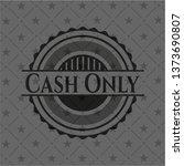 Cash Only Retro Style Black...