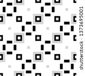 geometric checkered abstract...   Shutterstock .eps vector #1373695001