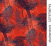 various pencil hatches.... | Shutterstock .eps vector #1373738741