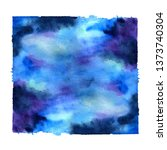 abstract color watercolor shape ... | Shutterstock . vector #1373740304
