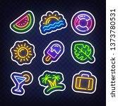 sticker for social media.... | Shutterstock .eps vector #1373780531