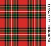 stewart royal modern tartan.... | Shutterstock .eps vector #1373793161