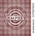 lamprey red seamless polygonal...   Shutterstock .eps vector #1373872031