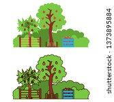 cartoon illustration of an... | Shutterstock .eps vector #1373895884