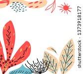 brochure  poster  card ... | Shutterstock .eps vector #1373918177