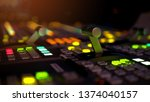 blur image video switch of... | Shutterstock . vector #1374040157