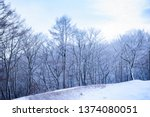 winter snow in the nature | Shutterstock . vector #1374080051