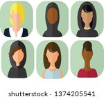 avatar icon profile | Shutterstock .eps vector #1374205541