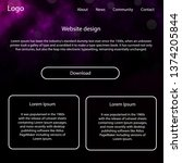 dark purple  pink vector web ui ...