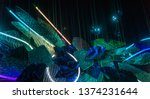 milan italy 04.13.2019  ... | Shutterstock . vector #1374231644