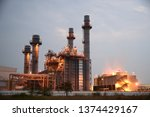 industrial power plants which... | Shutterstock . vector #1374429167