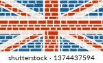 united kingdom exit from europe ... | Shutterstock . vector #1374437594