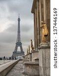 paris. beautiful city landmarks.