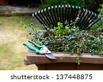 Stock Image Of Garden Clipping...