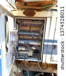 the electrical panel is then...   Shutterstock . vector #1374528011