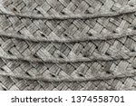 Woven Black And Grey Wicker...