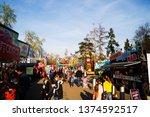prague   czech republic march...   Shutterstock . vector #1374592517