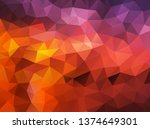 vector background from polygons ...   Shutterstock .eps vector #1374649301