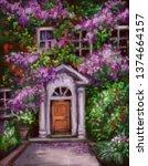 Imitation Of Oil Painting Door...