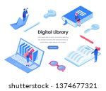 digital library web banner...