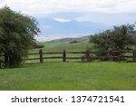 New Mexico Ranch Landscape Wit...