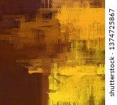 abstract texture. 2d... | Shutterstock . vector #1374725867