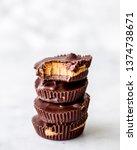 Stack Of Chocolate Peanut...