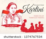 jakarta  indonesia   april 21 ... | Shutterstock .eps vector #1374767534