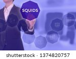 squids   technology and... | Shutterstock . vector #1374820757
