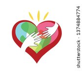 human rights day  solidarity... | Shutterstock .eps vector #1374884774