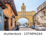 antigua guatemala   march 4... | Shutterstock . vector #1374896264