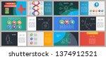 color medical presentation... | Shutterstock .eps vector #1374912521