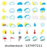 illustration of a set of... | Shutterstock . vector #137497211