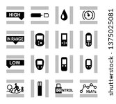 glucose level control  medical... | Shutterstock .eps vector #1375025081