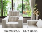 modern living room | Shutterstock . vector #137510801
