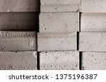 background from white brick... | Shutterstock . vector #1375196387