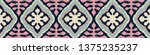 ikat geometric folklore... | Shutterstock .eps vector #1375235237