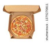 pizza with pepper  mozzarella...