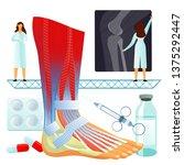 vector flat illustration  big... | Shutterstock .eps vector #1375292447
