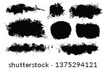 brush strokes. vector... | Shutterstock .eps vector #1375294121