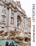 rome  italy   april 3  2019 ... | Shutterstock . vector #1375297841