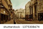london  uk   sep 27  street... | Shutterstock . vector #1375308674