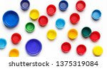 Colored Plastic Bottle's Covers ...