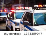 New York Nypd Police Car With...