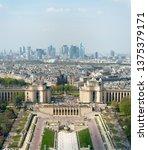 View Trocadero Architectural Ensemble Central - Fine Art prints