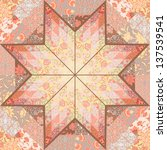 Quilt Seamless Pattern Craft...