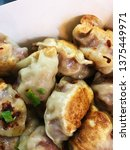 dumplings. delicious tasty...   Shutterstock . vector #1375449971