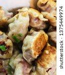 dumplings. delicious tasty...   Shutterstock . vector #1375449974