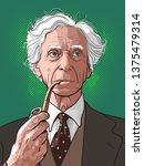 bertrand arthur william russell ... | Shutterstock .eps vector #1375479314